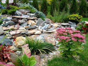 каменисты сады в ландшафтном дизайне