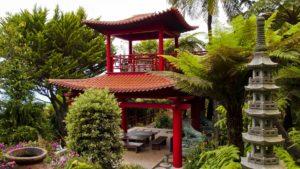 декоративный сад в восточном стиле