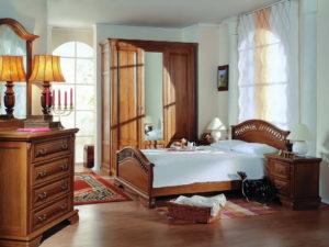 мебель из дуба для спальни