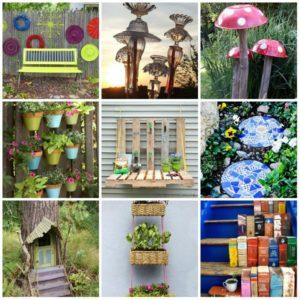 Элементы декора для садового дизайна