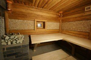 Внутренняя отделка бани и ее особенности