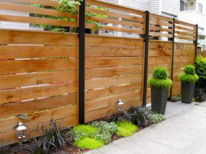 Деревянный забор — вечная классика