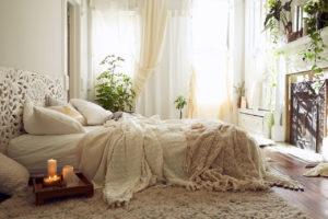 Какой должна быть уютная спальня?
