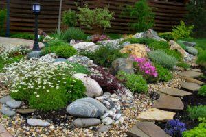 Каменные горки в ландшафтном дизайне