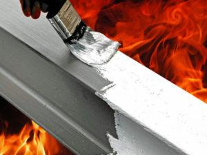 Огнезащитные краски: характеристики, свойства